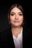 Portrait of successful businesswoman in studio photo Stock Photos