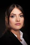 Portrait of successful businesswoman in studio photo Stock Images