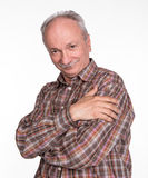 Portrait of a successful elderly man Royalty Free Stock Image