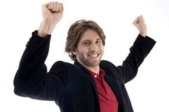 Portrait of successful man Stock Images