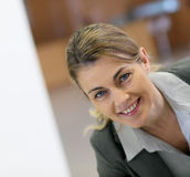 Portrait of successful mature businesswoman Royalty Free Stock Images