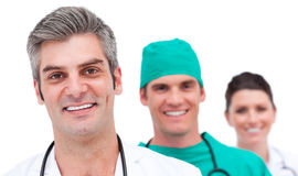 Portrait of a successful medical team Royalty Free Stock Image