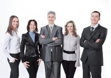 Portrait of a successful professional business team. stock photography