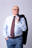 Portrait of a successful senior man Stock Photography