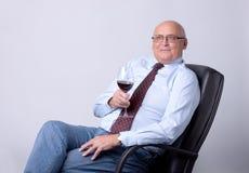 Portrait of a successful senior man Royalty Free Stock Photos