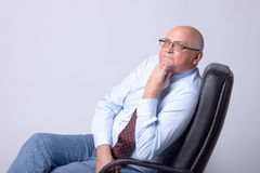 Portrait of a successful senior man Royalty Free Stock Image