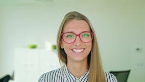 Portrait of Successful Smiling Businesswoman