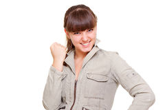 Portrait of successful teenager Royalty Free Stock Image