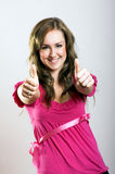 Portrait of a successful woman Royalty Free Stock Photo