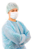 Portrait of a successful young doctor Stock Photos