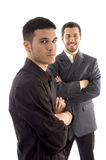 Portrait of successful young executives Royalty Free Stock Images