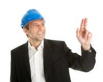 Portrait of successfull architect Stock Photos