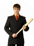 Portrait of successfull handsome man Royalty Free Stock Photos