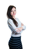 Portrait of succsesfull business woman Stock Image