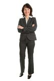Portrait of sucessful senior businesswoman Royalty Free Stock Photography