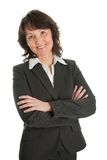 Portrait of sucessful senior businesswoman Stock Photography