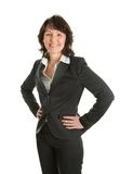 Portrait of sucessful senior businesswoman Stock Image