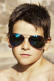 Portrait with sunglasses Royalty Free Stock Photos