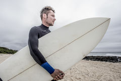 Portrait of a Surfer Stock Images