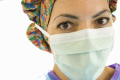 Portrait of surgeon, close-up Stock Photography