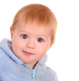 Portrait of surprise baby boy. Royalty Free Stock Image
