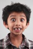 Portrait of a surprised boy Stock Image