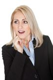 Portrait of surprised businesswomen Royalty Free Stock Images