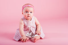Portrait of the surprised girl Royalty Free Stock Photo