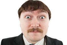 Portrait of a surprised man Royalty Free Stock Image