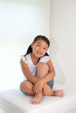 Portrait of sweet asian girl Royalty Free Stock Images