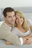 Portrait of sweet couple Royalty Free Stock Photography