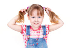 Denim cutie Royalty Free Stock Photo