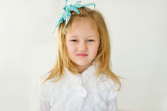 Portrait of sweet girl Royalty Free Stock Images