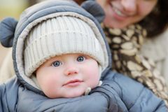 Portrait of sweet little baby Royalty Free Stock Photos