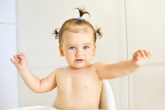 Portrait of sweet little child Royalty Free Stock Photos