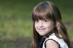 Portrait of sweet little girl Stock Images