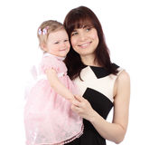 Portrait of sweet mother with her child Royalty Free Stock Images