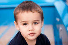 Portrait of sweet toddler boy Royalty Free Stock Image