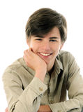 Portrait of syn boy Royalty Free Stock Photos