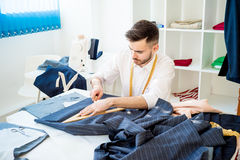 Portrait of a tailor Royalty Free Stock Images