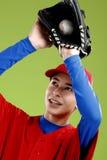 Portrait of a  teen baseball player Stock Photo