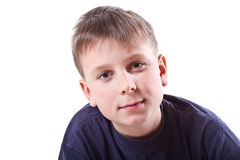 Portrait of teen boy Stock Images