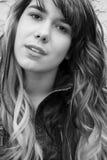 Portrait of teen girl. Beautiful portrait of teenage girl Stock Photography
