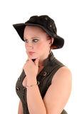 Portrait of teen girl. stock photos
