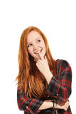 Portrait of teen girl Royalty Free Stock Photography