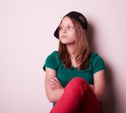 Portrait of a teen girl Royalty Free Stock Photo