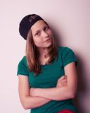 Portrait of a teen girl Stock Photography