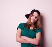 Portrait of a teen girl Royalty Free Stock Image
