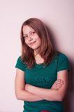 Portrait of a teen girl Royalty Free Stock Photos