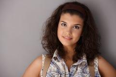 Portrait of teenage beauty Stock Photos